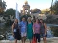 Después de las clases de Brain Gym en un paseo por la bella Barcelona