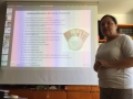 Isabel Compan nuestra maravillosa profesora de Brain Gym