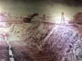 Foto de las excavaciones hechas al principio en Panamá