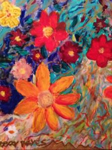 Floreciendo con la Vida Misma