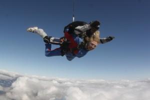 Volando sobre las nubes
