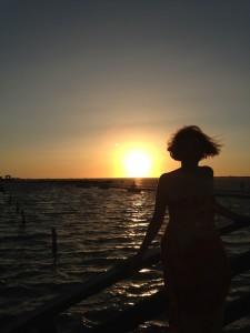 Con el sol a mi espalda