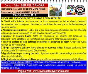 Curso en Torreón Ser feliz ahora